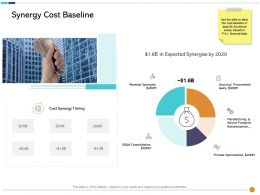 Synergy Cost Baseline M3036 Ppt Powerpoint Presentation File Template