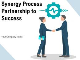 Synergy Process Partnership To Success Entrepreneurs Framework Research Collaboration Environment