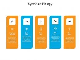 Synthesis Biology Ppt Powerpoint Presentation Ideas Objects Cpb