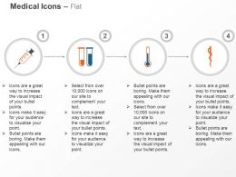 Syringe Test Tubes Thermometer Caduceus Ppt Icons Graphics
