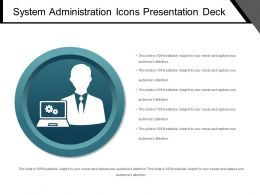 System Administration Icons Presentation Deck