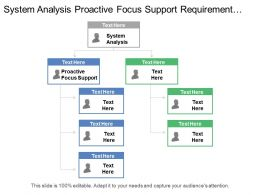 System Analysis Proactive Focus Support Requirement Gathering Software Design