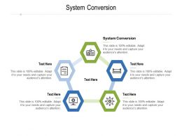 System Conversion Ppt Powerpoint Presentation Show Graphics Pictures Cpb