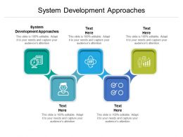 System Development Approaches Ppt Powerpoint Presentation Pictures Layouts Cpb