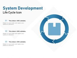 System Development Life Cycle Icon