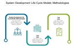 System Development Life Cycle Models Methodologies Ppt Powerpoint Show Cpb