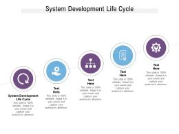 System Development Life Cycle Ppt Powerpoint Presentation Gallery Clipart Cpb