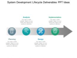 System Development Lifecycle Deliverables Ppt Ideas