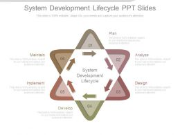 System Development Lifecycle Ppt Slides