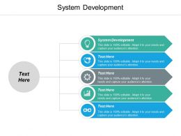 System Development Ppt Powerpoint Presentation Ideas Deck Cpb