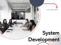System Development Requirement Process Planning Analysis Organization