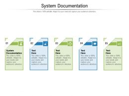System Documentation Ppt Powerpoint Presentation Model Images Cpb