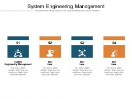 System Engineering Management Ppt Powerpoint Presentation Portfolio Styles Cpb