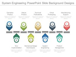 System Engineering Powerpoint Slide Background Designs