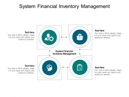 System Financial Inventory Management Ppt Powerpoint Presentation Slides Skills Cpb
