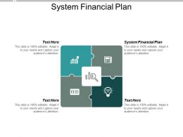 System Financial Plan Ppt Powerpoint Presentation Layouts Picture Cpb