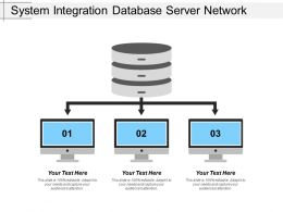System Integration Database Server Network