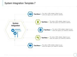 System Integration Gears System Integration And Architecture Ppt Portrait