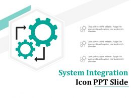 System Integration Icon Ppt Slide