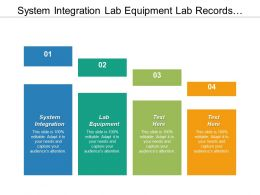 System Integration Lab Equipment Lab Records Developing World Cpb