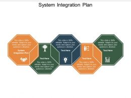 System Integration Plan Ppt Powerpoint Presentation File Elements Cpb