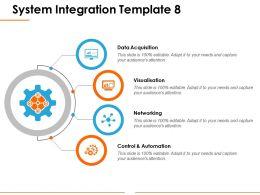 System Integration Ppt Background Image