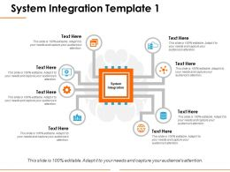 System Integration Ppt Graphics