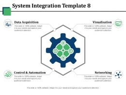 System Integration Ppt Icon