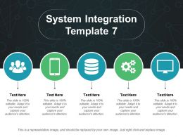 System Integration Ppt Slides Graphics Template