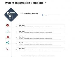 System Integration Template S60 System Integration Work Breakdown Structure Wbs Ppt Professional Information