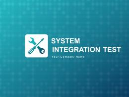 System Integration Test Review Requirement Initial Planning Define Tests Strategy