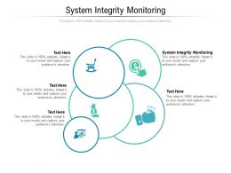 System Integrity Monitoring Ppt Powerpoint Presentation Layouts Inspiration Cpb