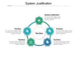 System Justification Ppt Powerpoint Presentation Pictures Graphics Cpb