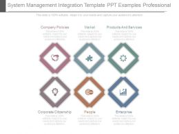 System Management Integration Template Ppt Examples Professional