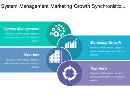 System Management Marketing Growth Synchronistic Strategies Branding Lead