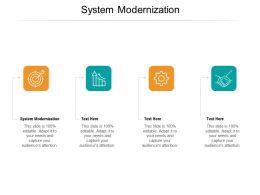 System Modernization Ppt Powerpoint Presentation Slides Files Cpb