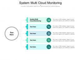System Multi Cloud Monitoring Ppt Powerpoint Presentation Model Slide Cpb