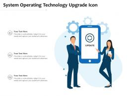 System Operating Technology Upgrade Icon