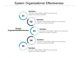 System Organizational Effectiveness Ppt Powerpoint Presentation Summary Backgrounds Cpb