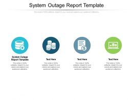 System Outage Report Template Ppt Powerpoint Presentation Inspiration Designs Download Cpb