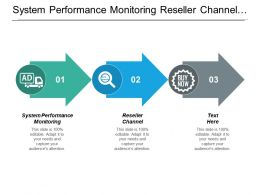 System Performance Monitoring Reseller Channel Performance Management Budgeting Analysis Cpb