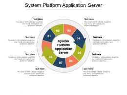System Platform Application Server Ppt Powerpoint Infographics Cpb