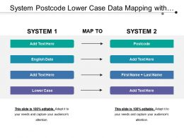 system_postcode_lower_case_data_mapping_with_connecting_arrows_Slide01