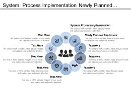 System Process Implementation Newly Planned Implement Schedule Baseline