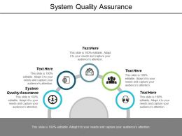 System Quality Assurance Ppt Powerpoint Presentation Layouts Designs Download Cpb