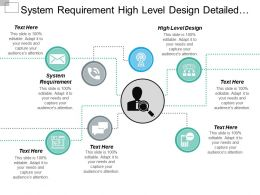 System Requirement High Level Design Detailed Design Subsystem Verification Cpb