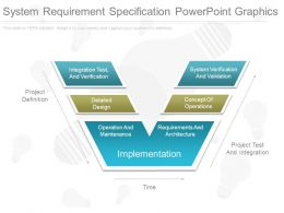 System Requirement Specification Powerpoint Graphics