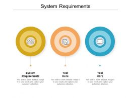 System Requirements Ppt Powerpoint Presentation Ideas Influencers Cpb