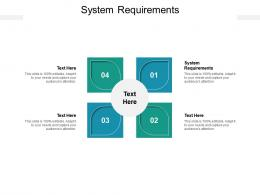 System Requirements Ppt Powerpoint Presentation Inspiration Example Cpb