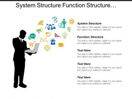 System Structure Function Structure Failure Analysis Risk Analysis